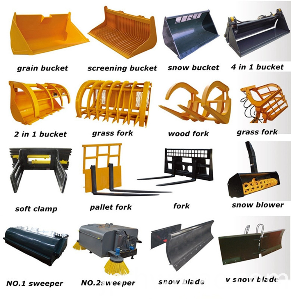wheel loader accessories