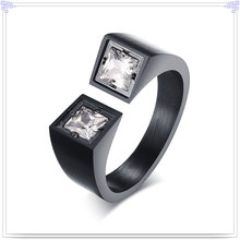 Bijoux en cristal Bague en acier inoxydable (SR259)