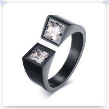 Crystal Jewelry Stainless Steel Fashion Ring (SR259)