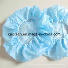 Cubierta desechable quirúrgica de la cabeza del casquillo / del Bouffant de la enfermera no tejida