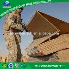 Alta qualidade de malha de Arame aplicações militares china hesco barreira