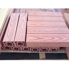 Poste de pérgola compuesto de madera de WPC 90 * 90 mm