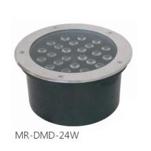 Luz subterrânea do jardim do diodo emissor de luz subterrâneo / Inground de 24W