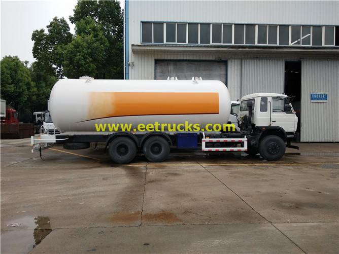 25000 liters LPG Tanker Trucks