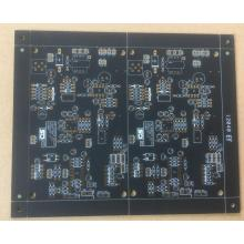 FR4 PCB with Matt  black  Soldermask