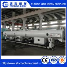Linha de produção da tubulação de PVC UPVC Linha de máquina da extrusão da tubulação de água do PVC