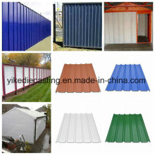 Anti Corrosion PVC Roofing, Wall Cladding