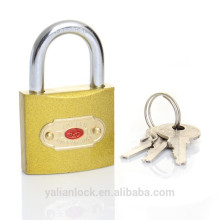 Golden Color Brass Imitate Padlock