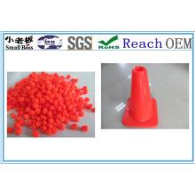 Material macio do cone do tráfego do PVC