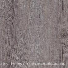Plancher en bois de vinyle de PVC de modèle pour le salon