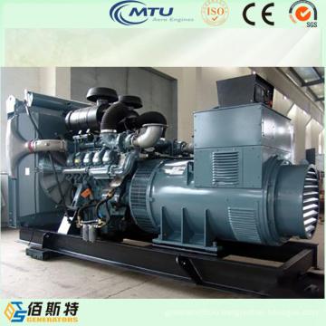 1500kw абсолютно новый комплект генератора электричества с двигателем mtu