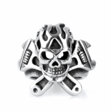Fashion Accessories Titanium Steel finger skull rings