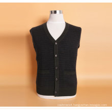Yak Jwool/Cashmere V Neck Cardigan Long Sleeve Sweater. /Garment/Knitwear/Clothing