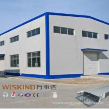 Werkstattanlage Stahlkonstruktion Gebäude