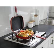 2016 горячая продажа sarchi без палочки двойной гриль для кухни