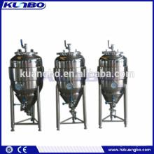 Tipo vertical tanque de fermentação da cerveja do aço inoxidável com CE, certificação do ISO aprovada