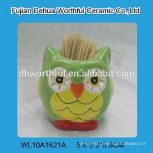 Decorative ceramic toothpick holder for home