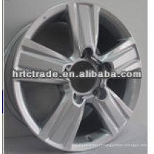 Beau chrome noir sport suv voiture roues jantes en aluminium
