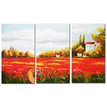 Decorative Sunflowers Canvas Oil Painting for Home Decor (LA3 -135)