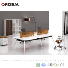 ORIZEAL 6 people open long bench office table