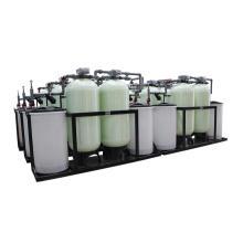 Doble tanque continuo 24 horas de funcionamiento Amaciador automático de agua