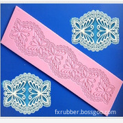 Butterfly Shaped Long Silicone Lace Mould
