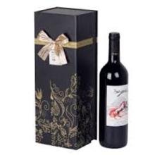Caixas de embalagem para presente de vidro de vinho de luxo personalizado