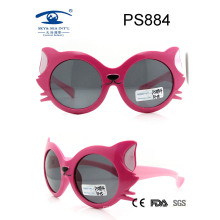 Fox Cartoon Kids Sunglasses, Top Selling Plastic Material Rubber Finished Kid Sunglasses (PS884)