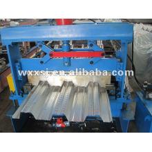 máquina de piso compuesto acero Deck embutición de panel
