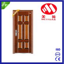Indian Main Door Design Metal Security Steel Door for Entrance