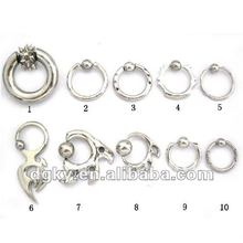 Stainless Steel Nose Screw Nose Hoop Jewelry