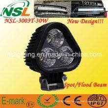 Alta potencia 30W LED luz de conducción CREE LED luz de trabajo Lazer Star Discovery Triad inundación Nsl-3003t-30W