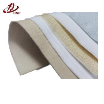 Fibra de aguja de fibra de acero inoxidable de tela de filtro de poliéster