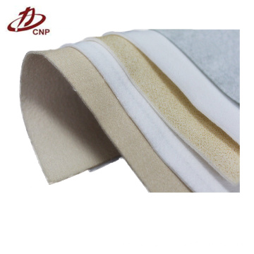 Polyester filter fabric stainless steel fiber needle felt