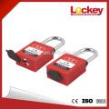 38mm Steel Shackle Safety Dustproof Lockout padlock