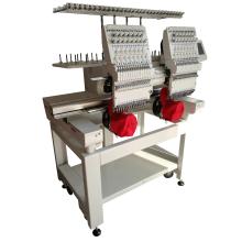 Máquina de bordar de doble cabeza, máquina de bordar computarizada de precio bajo
