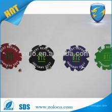 Popular Hot Sale Shenzhen ZOLO custom logo anti counterfeit fragile sticker