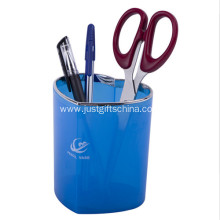 Promotional Logo Heart-shaped Pen Holder Pot