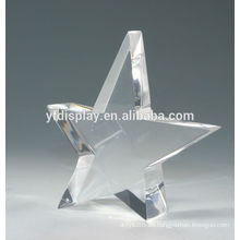 Star Shape Acrylrahmen in klarer Farbe