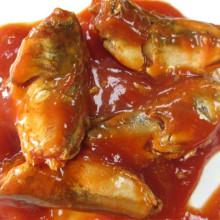 Maquereau en conserve à saveur de sauce tomate
