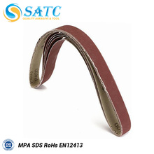 Herramientas de pulido de acero Correa de lijado abrasivo de óxido de aluminio