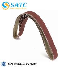 Outils abrasifs en acier Bande abrasive abrasive en oxyde d'aluminium