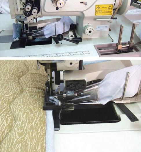 Mattress Tape Binding and Cutting Machine