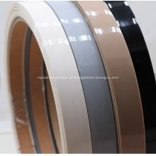 Tiras de borda de borda brilhante de PVC