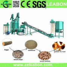 Ligne de production complète de granulés de bois professionnelle CE Professional