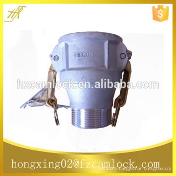 aluminum reducing camlock coupling, reducing quick coupling type BR