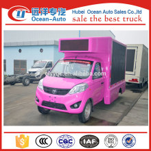 Famous mini double sides mobile led truck,stage led screen truck