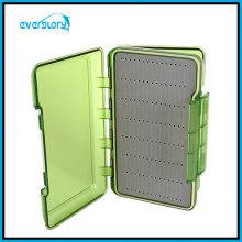 Transparente zwei Seiten Kunststoff Fliegenbox 198X112X42mm