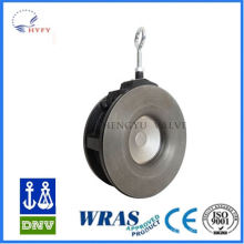 With high quality mini cast iron flanged check valve