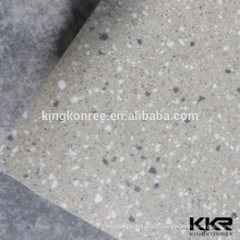 Facilidad de limpieza de superficie sólida Pared de piedra